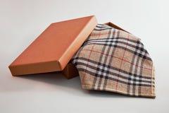 Zakdoek, uit van een doos Stock Foto's