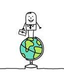 zaken & wereld Royalty-vrije Stock Foto's