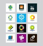 Zaken Collectief Logo Set Royalty-vrije Stock Foto