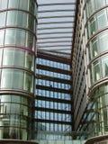 Zaken - de Gebouwen van het Glas Royalty-vrije Stock Afbeelding