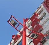 Zaken een gebouw   Royalty-vrije Stock Afbeeldingen