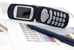 Zaken en financiën-ondiepe dof Stock Foto's