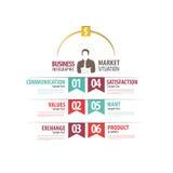 Zaken Infographic royalty-vrije stock fotografie