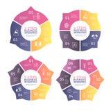 Zaken Infographics Royalty-vrije Stock Fotografie