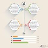 Zaken Infographics Stock Foto