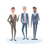 Zaken Man Group Team Human Resources Colleagues royalty-vrije illustratie