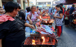 Zaken met Godsdienst, Quiapo Royalty-vrije Stock Fotografie