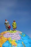 Zaken rondom de wereld royalty-vrije stock foto