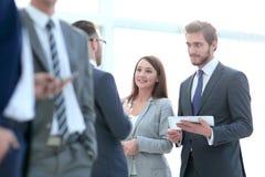 Zaken Team Meeting Discussion Break Concept royalty-vrije stock foto's