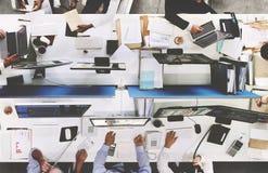 Zaken Team Meeting Project Planning Concept royalty-vrije stock afbeelding