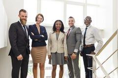 Zaken Team Office Worker Entrepreneur Concept Royalty-vrije Stock Afbeelding