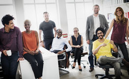 Zaken Team Professional Occupation Workplace Concept Royalty-vrije Stock Foto's