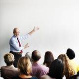 Zaken Team Seminar Listening Meeting Concept royalty-vrije stock foto