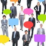 Zaken Team Sharing Ideas Royalty-vrije Stock Afbeeldingen