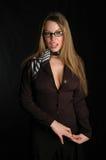 Zaken vrouw-12 royalty-vrije stock foto
