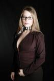 Zaken vrouw-15 stock foto