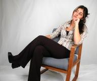 Zaken vrouw-6 Stock Foto