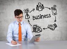 zakenlieden Stock Foto's
