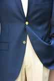 Zakenman in een kostuum Royalty-vrije Stock Fotografie