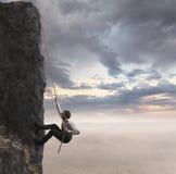 Zakenman en professioneel succes Stock Afbeelding