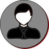 Zakenman Icon Stock Afbeelding