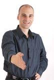 Zakenman Klaar om Handen te schudden Royalty-vrije Stock Fotografie