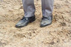 Zakenman Shoes Stock Afbeelding