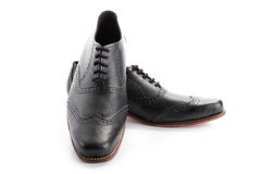 Zakenman Shoes royalty-vrije stock afbeeldingen