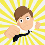 Zakenman van Eminente succeszaken, Werknemer Stock Foto
