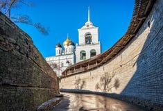 Zakhab in Pskov het Kremlin stock foto's