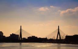 zakim моста Стоковые Фотографии RF