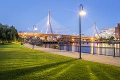 zakim моста boston Стоковые Фото