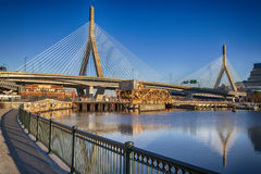 Мост Zakim Стоковое Фото