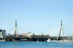 Zakim Bridge 1 Royalty Free Stock Photos
