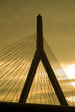 Zakim Bridge Royalty Free Stock Photos