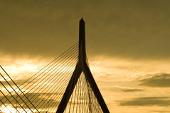 Zakim Bridge stock image