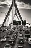 The Zakim Bridge stock photography