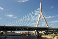 Zakim Bridge Royalty Free Stock Photography