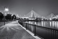 Zakim Bridge Royalty Free Stock Images