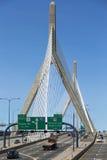 Zakim Bridge Royalty Free Stock Images