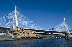 Zakim bridge. Boston Stock Images
