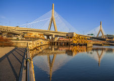Zakim Bridge Stock Photo