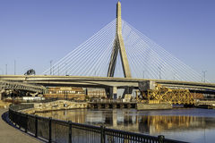 Zakim Bridge Royalty Free Stock Photo