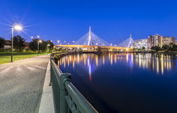 Zakim Bridge Royalty Free Stock Image