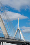 Zakim Bunker Hill Memorial Bridge in Boston, USA. Zakim Bunker Hill Memorial Bridge in Boston, Massachusetts, USA stock photos