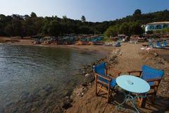Zakinthos, пляж Греция Стоковое Изображение RF