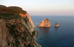 Zakinthos. Mizithres Rocks - View from Keri Lighthouse Stock Photography