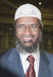 Zakir Abdul Karim Naik is a Muslim apologist Stock Photography