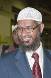 Zakir Abdul Karim Naik is a Muslim apologist Stock Photo