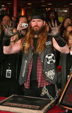 Zakk Wylde. At a ceremony to induct him into Hollywood's Rockwalk. Sunset Boulevard, Hollywood, CA. 01-17-06 royalty free stock photo